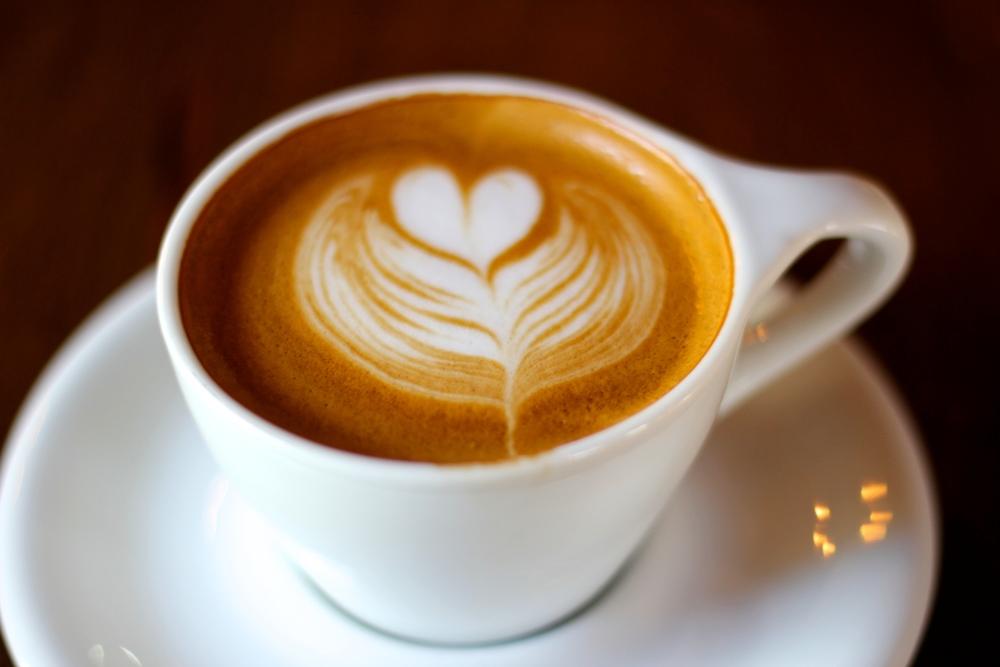 {Beautiful cappuccino}
