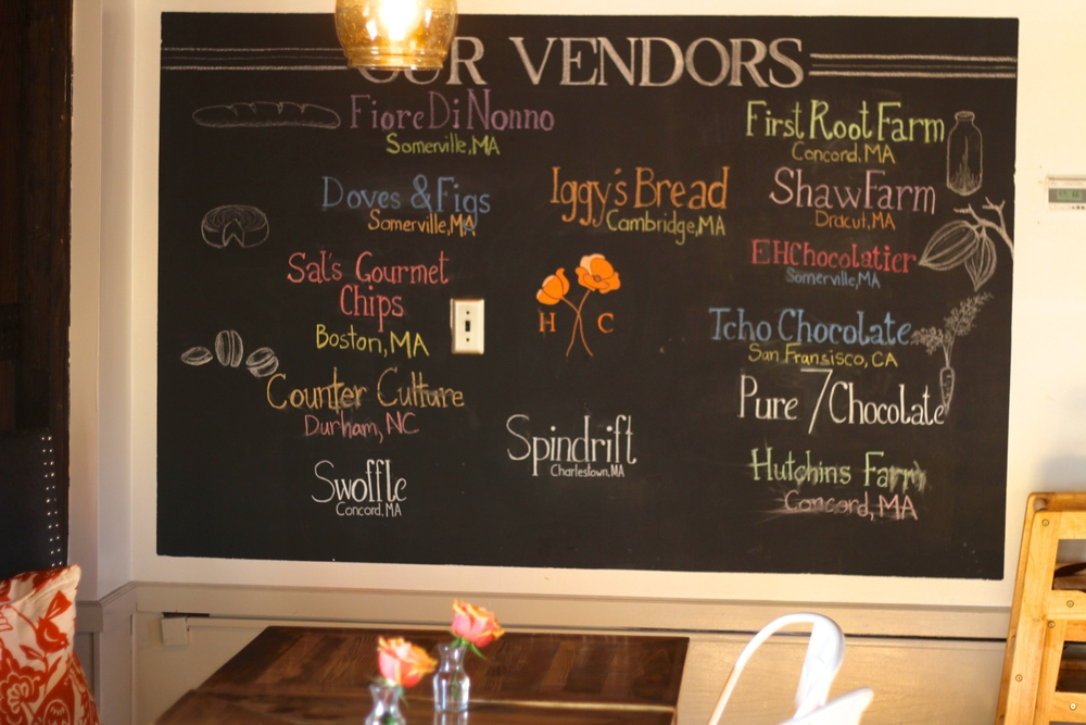 {A list of their vendors}