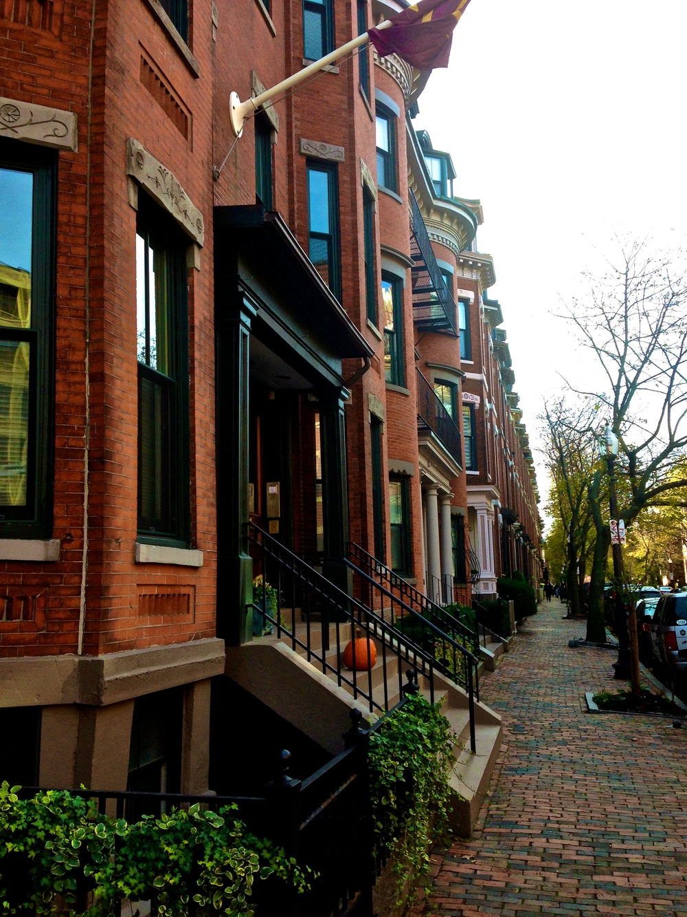 {Morning stroll through the South End on the way to brunch}
