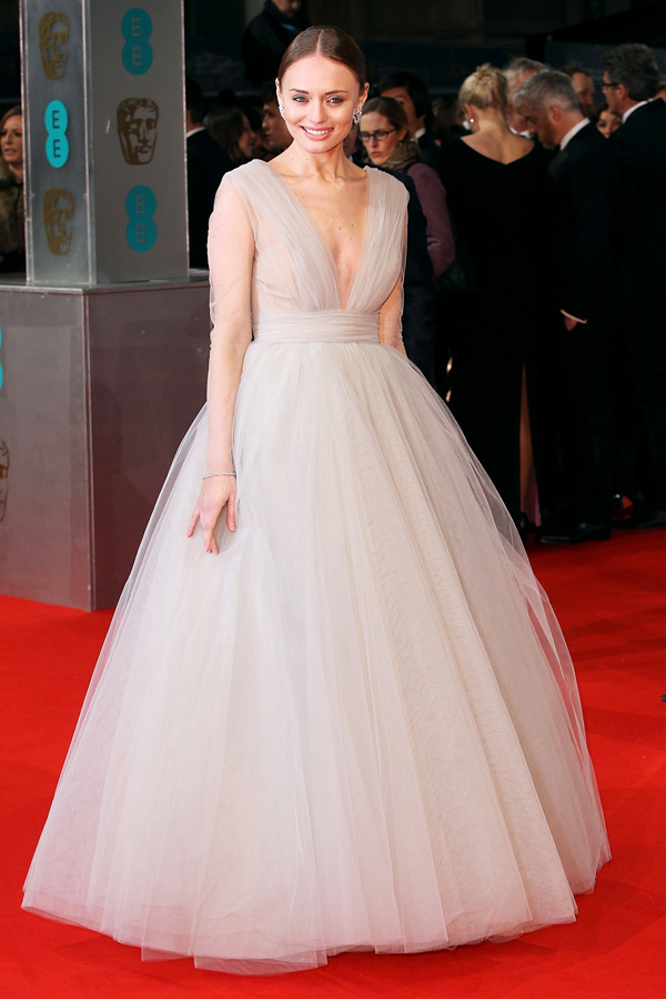 Laura Haddock in Ashlii Couture