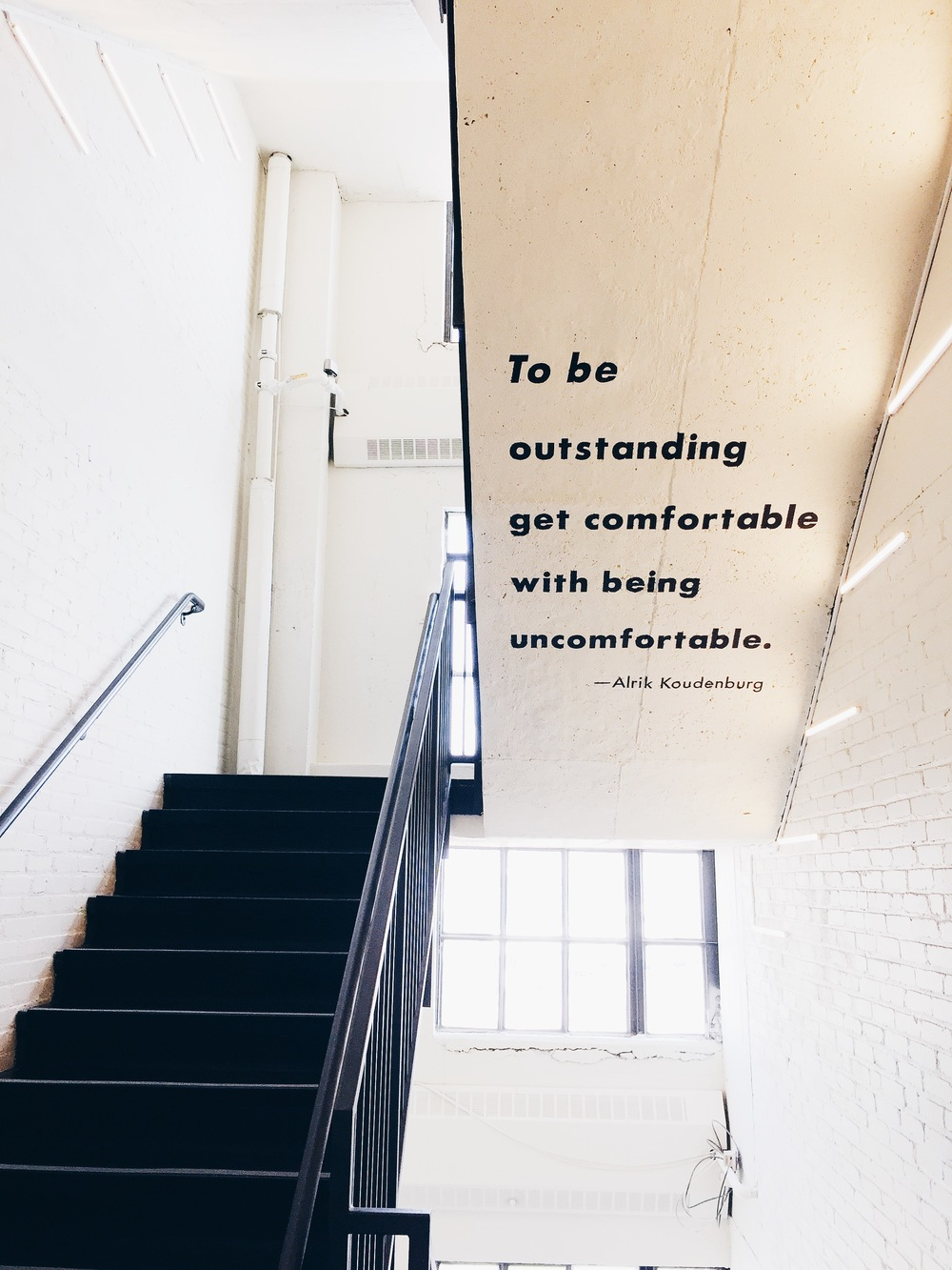 {Inspiration from the Boston Design Center stairwell...}