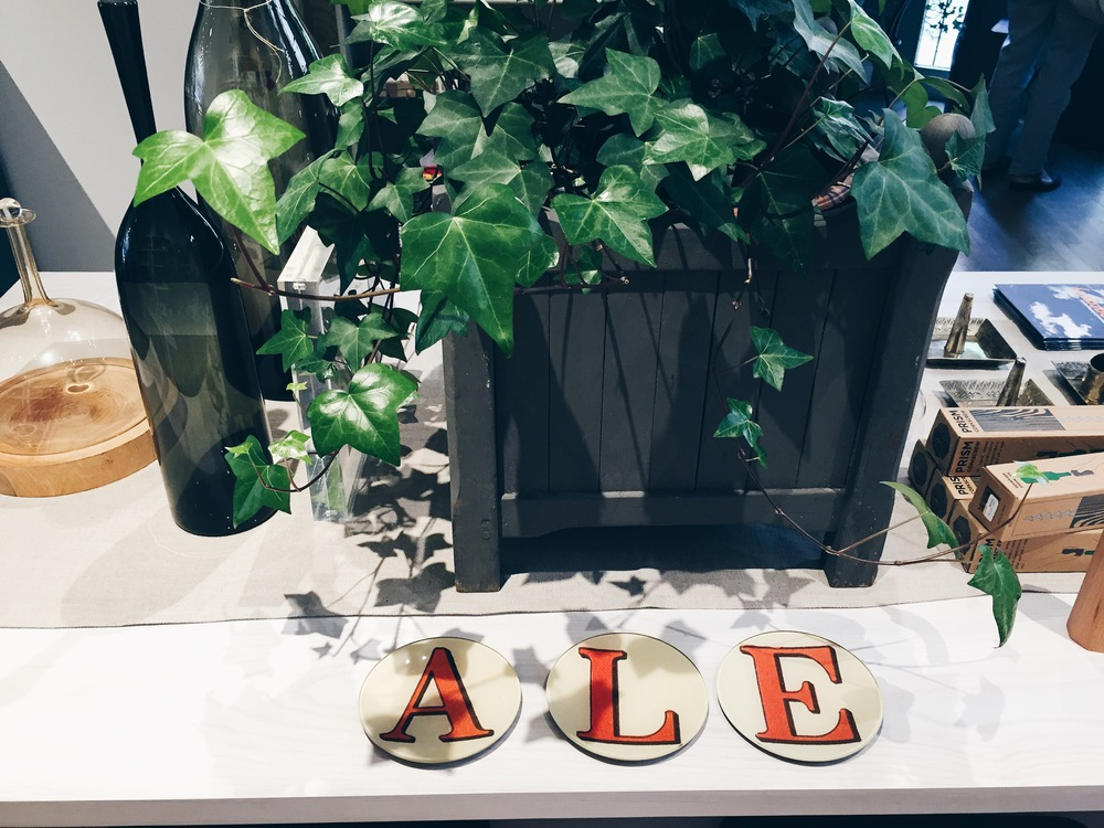 {A little vignette at Good on Charles Street}
