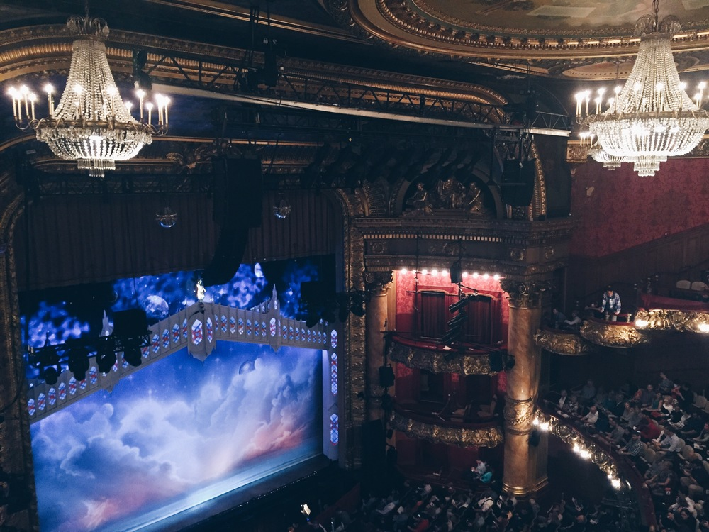 {I had SO much fun going to see Book of Mormon in Boston last week}
