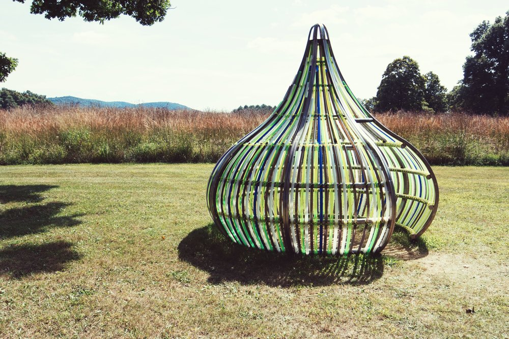 Electric Kiss by Dennis Oppenheim