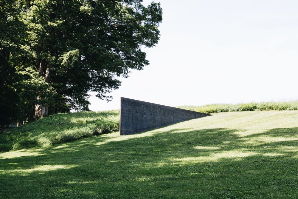 Schunnemunk Fork by Richard Serra