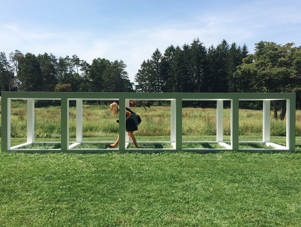 Five Modular Units  by Richard Serra