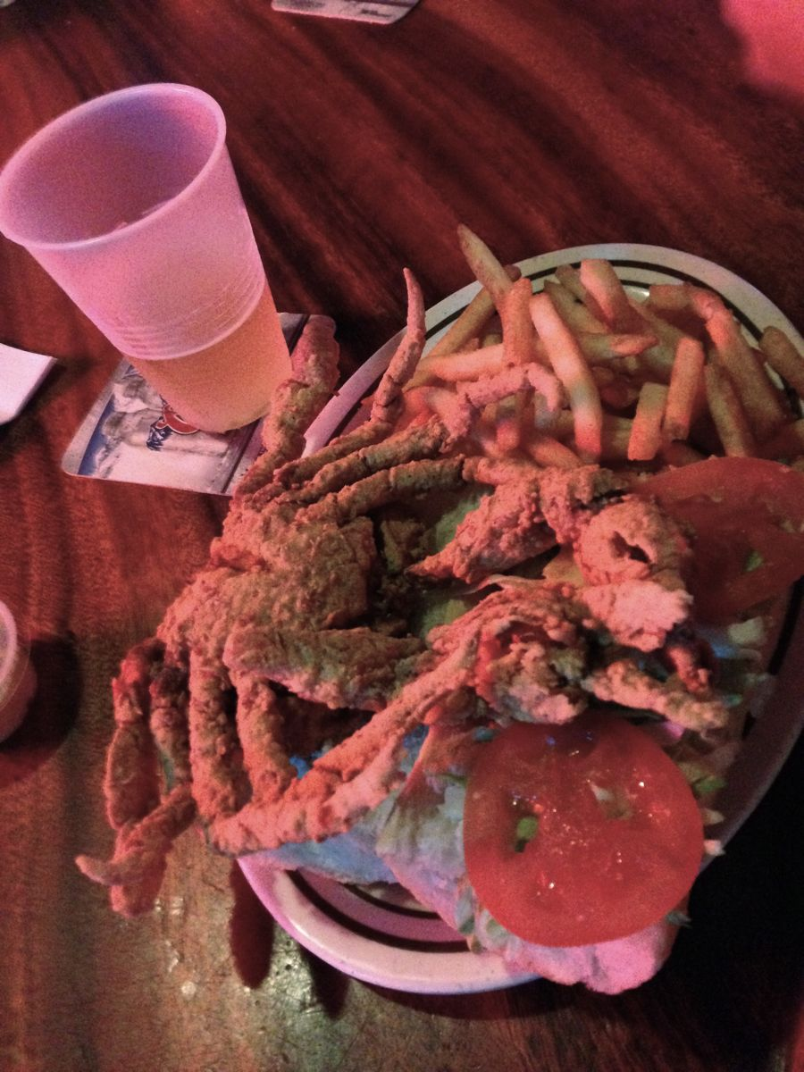 Yup ,the whole crab!