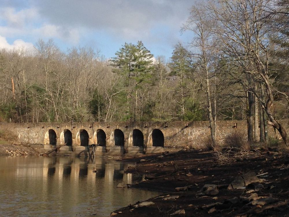 Largest masonry bridge made by the CCC