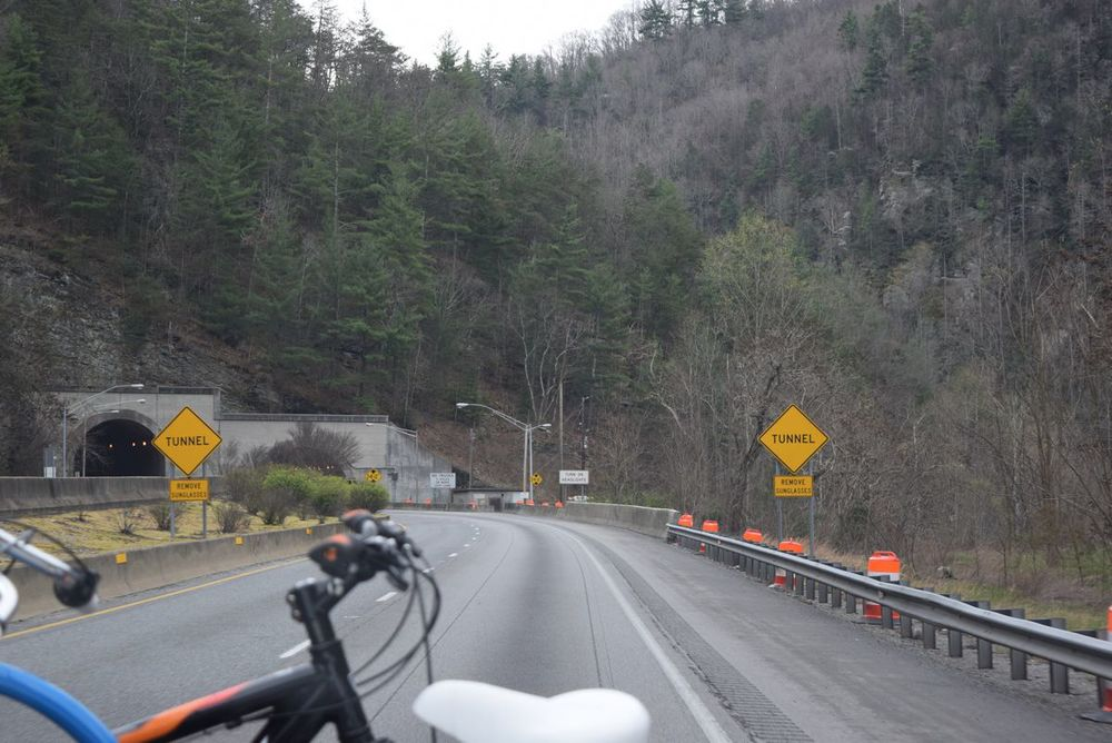Tunnel ahead!