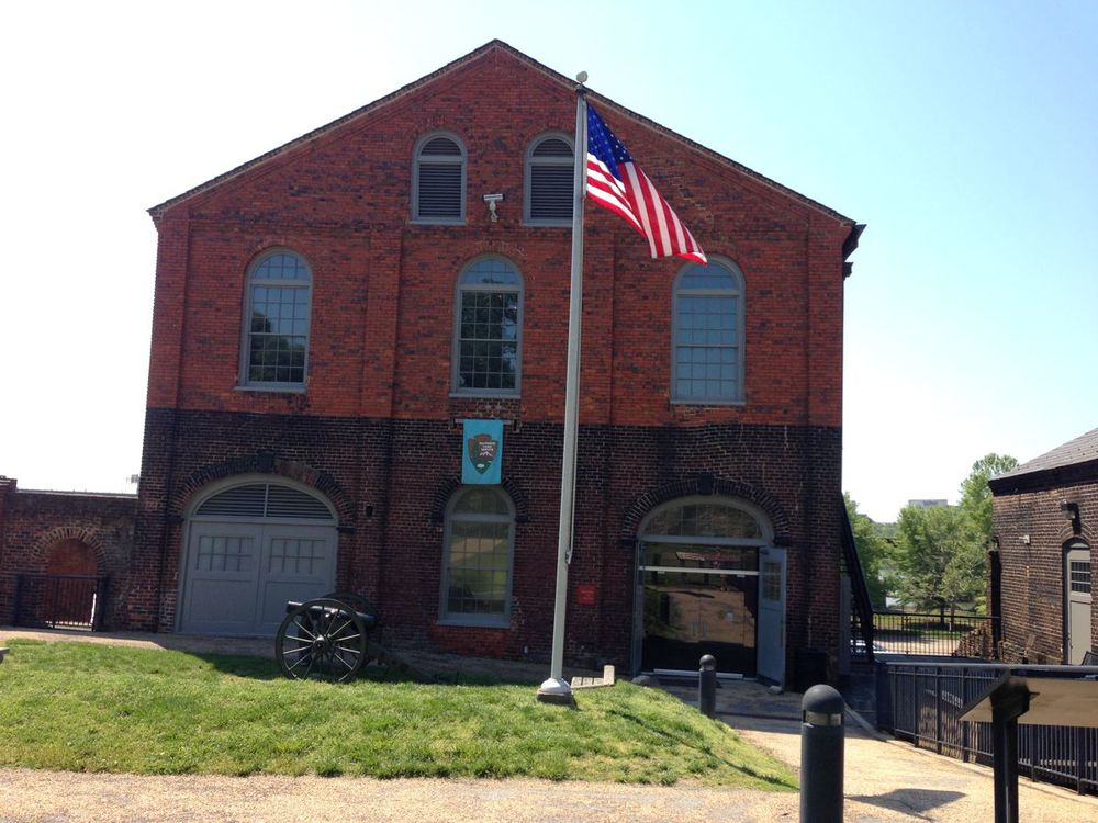 Tredegar was a weapons foundry during the Civil War.
