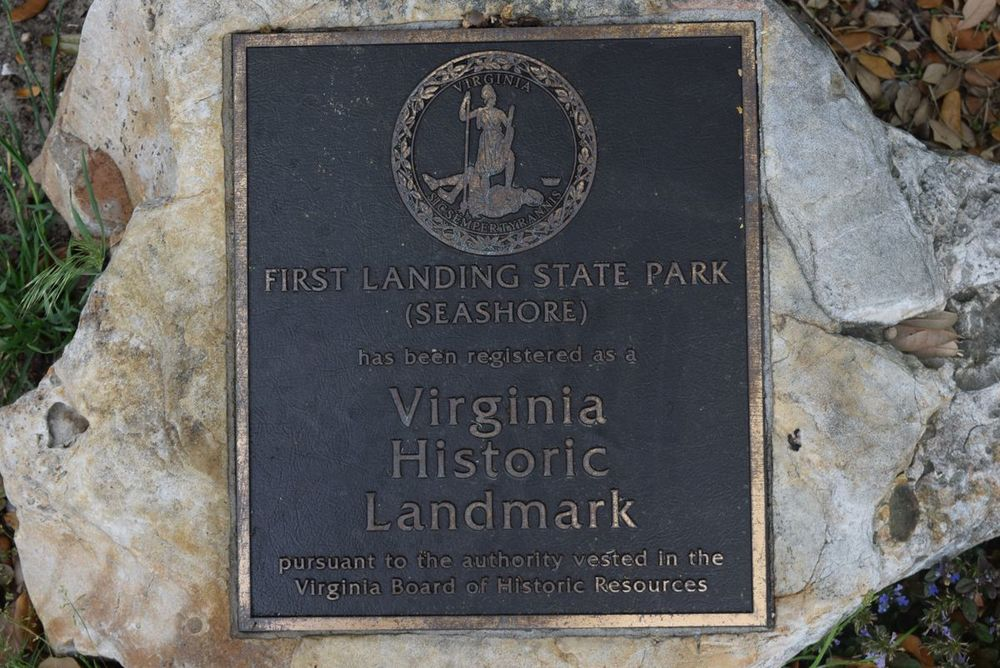 First Landing State Park is the site of the first English settlers landing on Virginia soil.