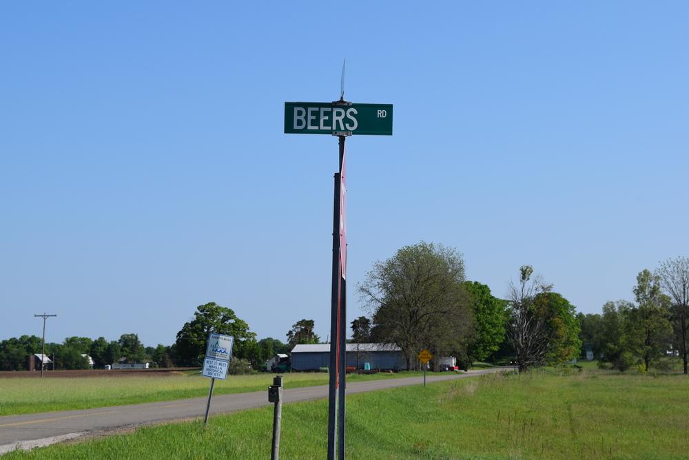 The GPS said turn here. Yes!