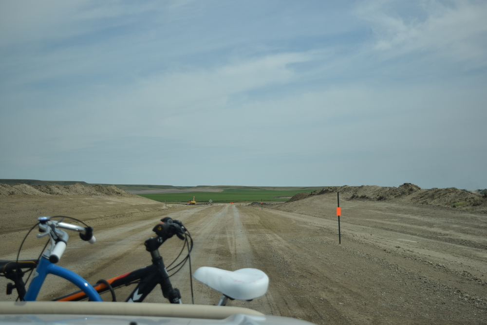 We saw this a lot in Montana. When they fix a road, they demolish the whole thing, and fix all lanes at once.