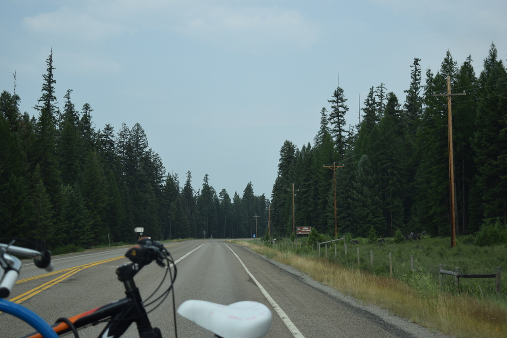 This is why we take the small roads. You don't get this view on the big interstates.