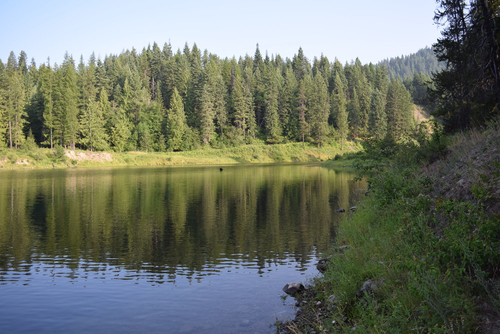 The Bull River. Our last stop in Montana.