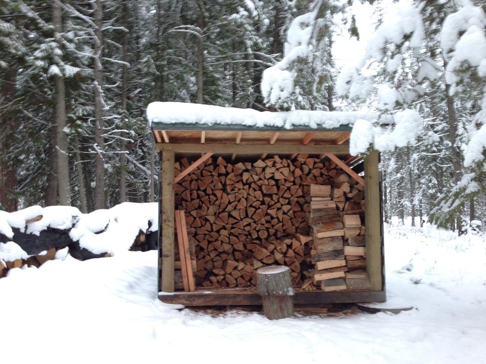 The woodshed.