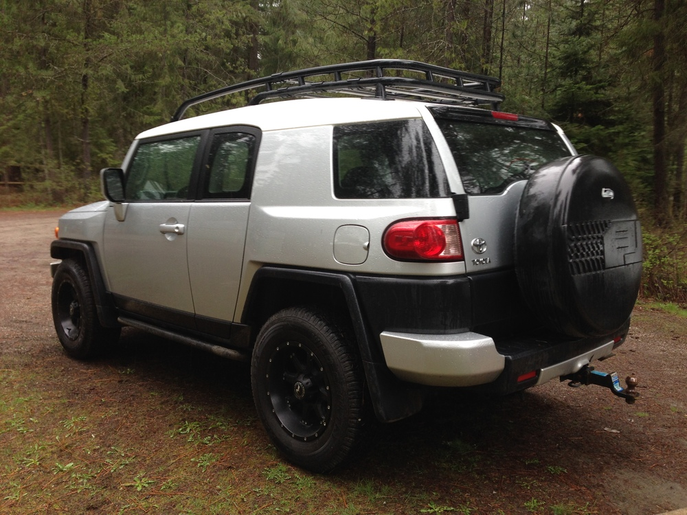 A zippy little FJ Cruiser!