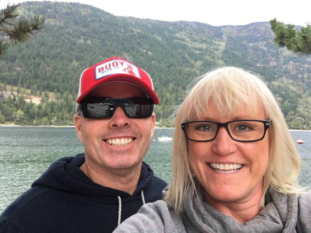 We celebrated our wedding anniversary in Nelson, BC. It's just 70 miles from us.