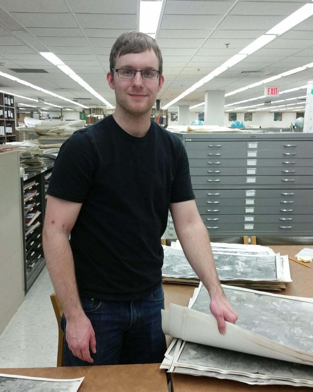 John R. Brochert Map Library at the University of Minnesota
