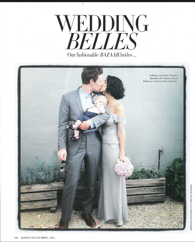 Harper's BAZAAR bridal supplement