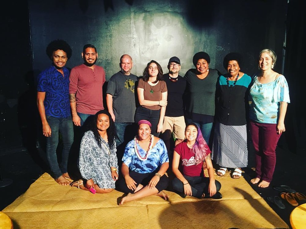 Pacific Tongues in Collaboration with University of Hawai'i Center For Pacific Island Studies: Fundraiser for Hurricane Winston Relief in Fiji 2016 at the Arts At Mark's Garage in Honolulu, Hawai'i.