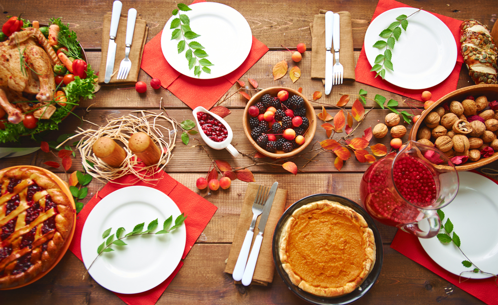 Host a community holiday potluck