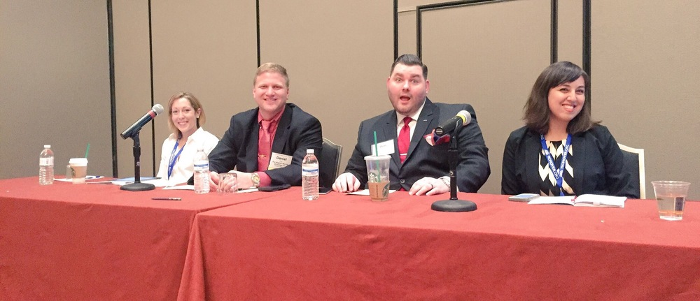 "Our (expert) friends on AMSA education panel, ""Make Lifelong Customers by Marketing to Millennials Now"""