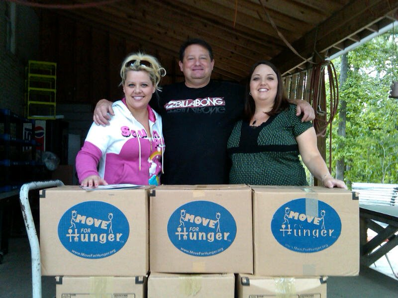 Our client, Hilldrup, supporting Move For Hunger