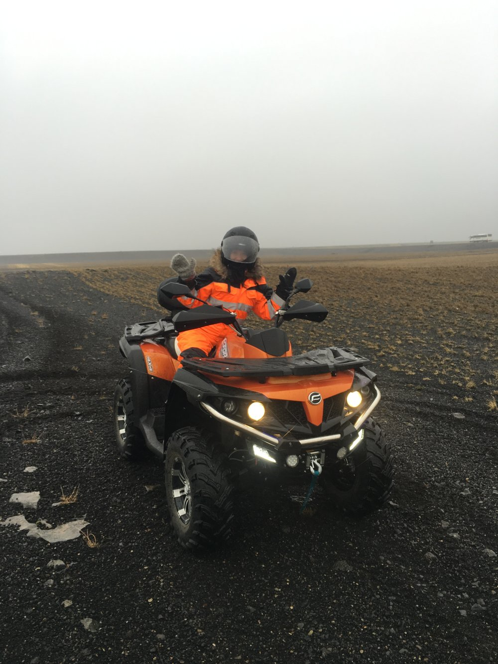 ATV adventures in Iceland!
