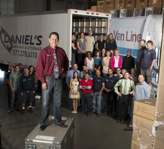 Daniel Ozbun, founder of Daniel's Moving & Storage