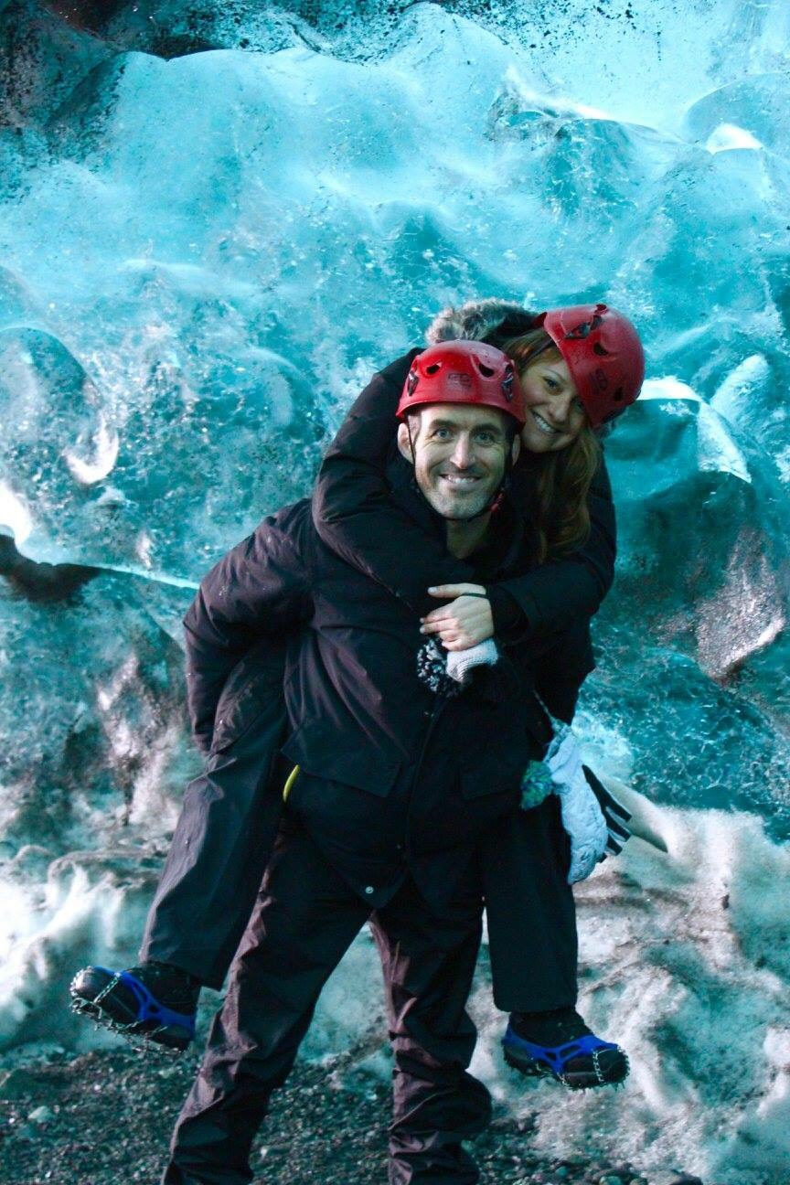 Jenna and her boyfriend Joe in Iceland