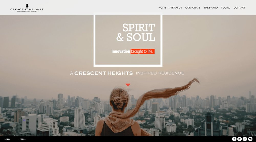 Best Parallax Website Design