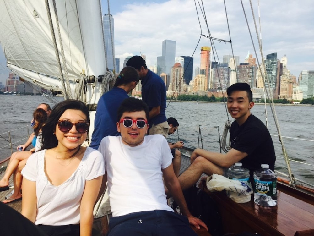 i nterns on a boat -   how to land an internship at updater