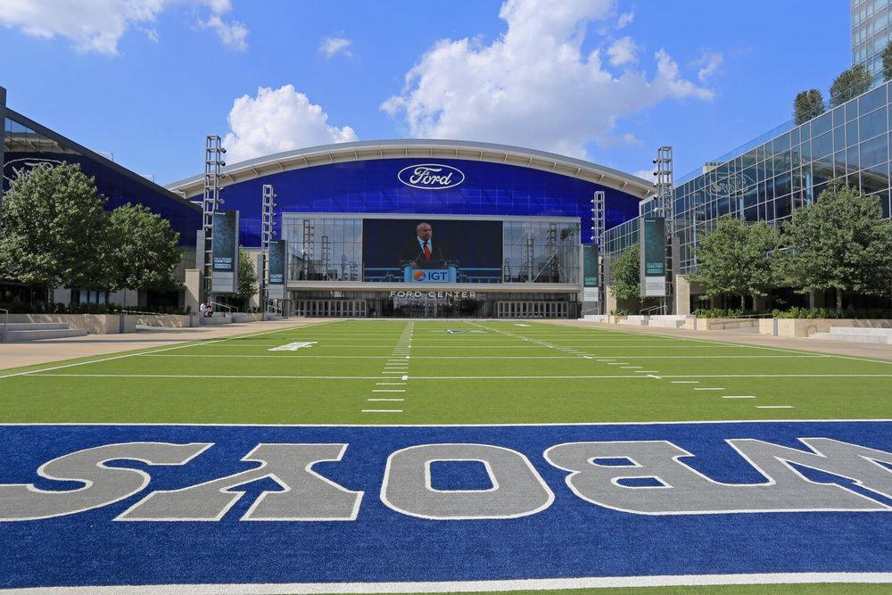 dallas cowboys stadium - dallas most popular moving destination texas 2017