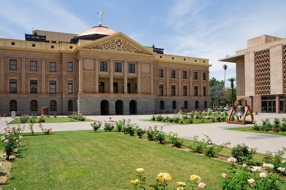 phoenix capitol building - phoenix job friendly moving destination