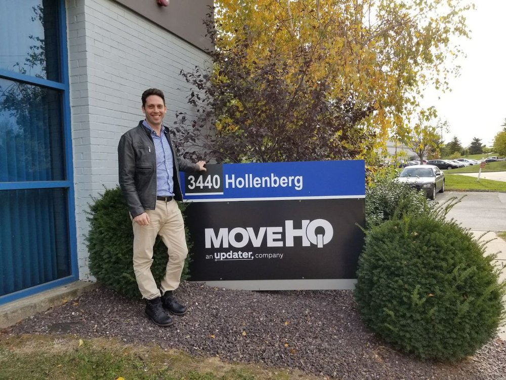 David Greenberg at the MoveHQ headquarters in Saint Louis, MO.