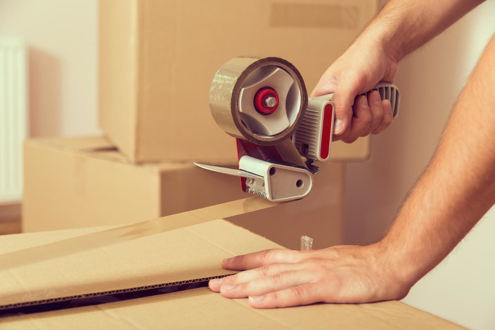 taping box - multifamily moving tips