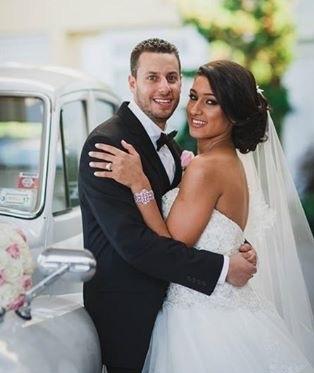 bride and groom - meet updater jacqueline daoud