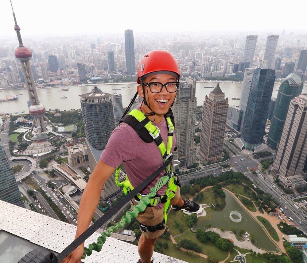 sandy climbing - meet updater sandy zhu