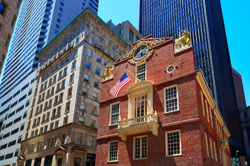 old state house_best moving companies boston