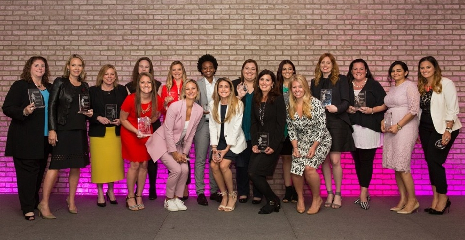 Jenna Weinerman, the 2018 Marketing Hall of Femme Winners and 2018 Women to Watch.