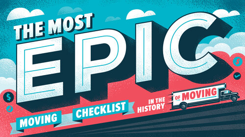 The Most Epic Moving checklists in the History of Moving