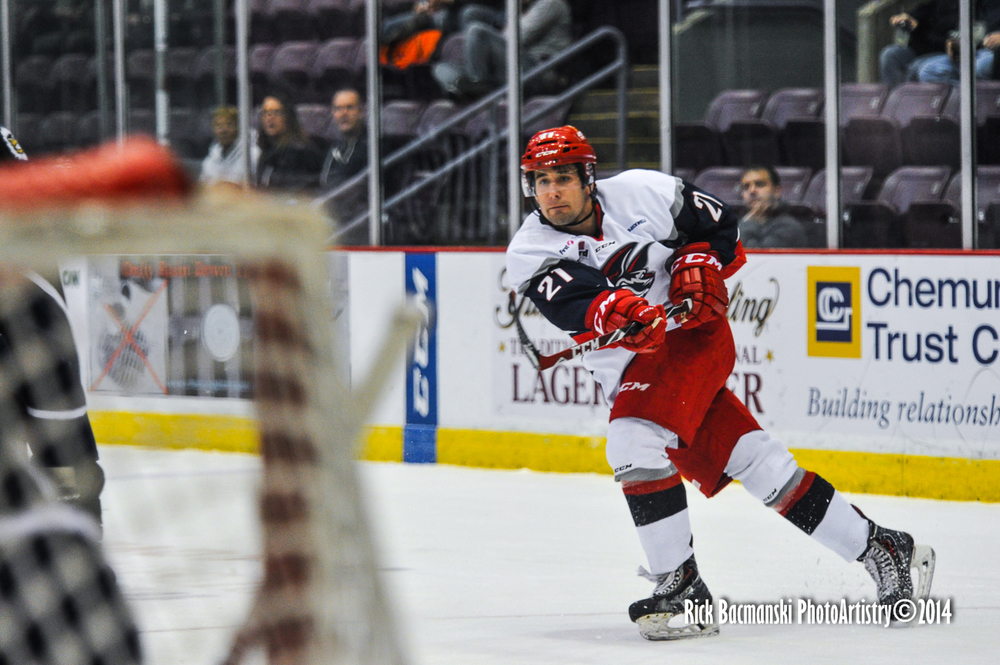 Shamanski set a Jackals' single-season record for a defenseman with 14 goals this season.