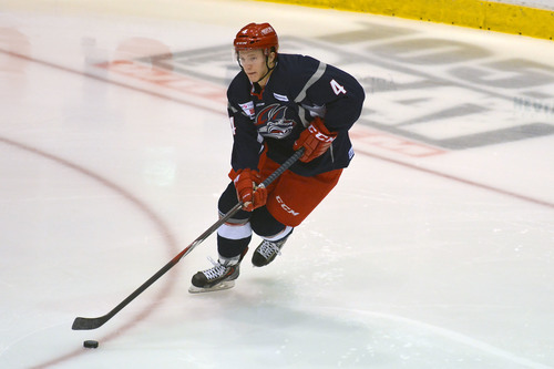 Tolkinen recorded five goals and 19 points in his rookie campaign with Elmira.