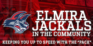 Elmira Jackals in the Community June 2015