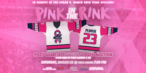 Jackals Host Annual Pink in the Rink Game Saturday