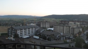 The View Overlooking Steamboat