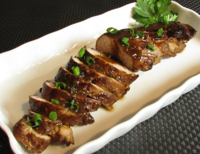Asian marinade for pork tenderloin