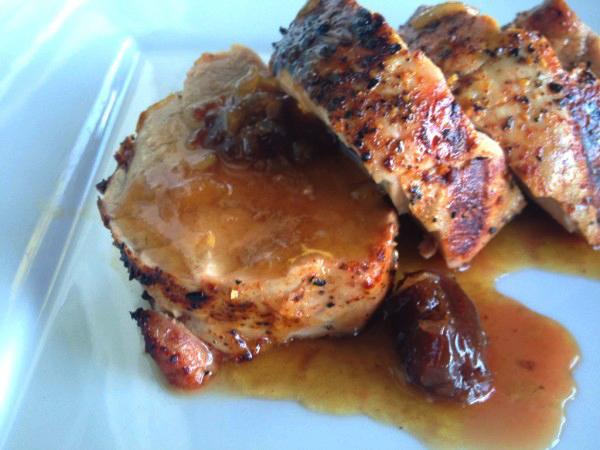 pork w: sauce