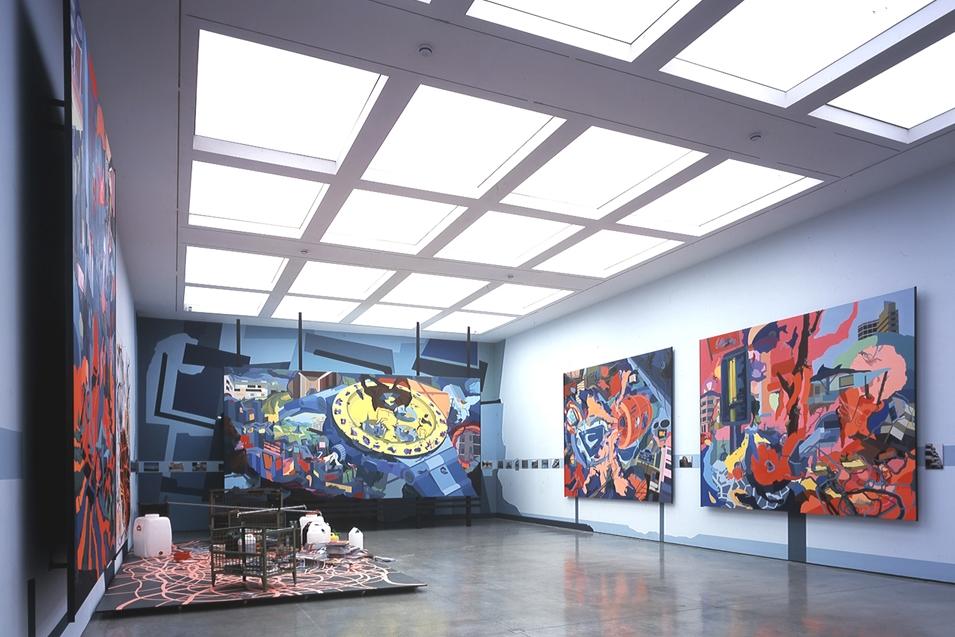 Franz Ackermann, Home, Home Again, 2002